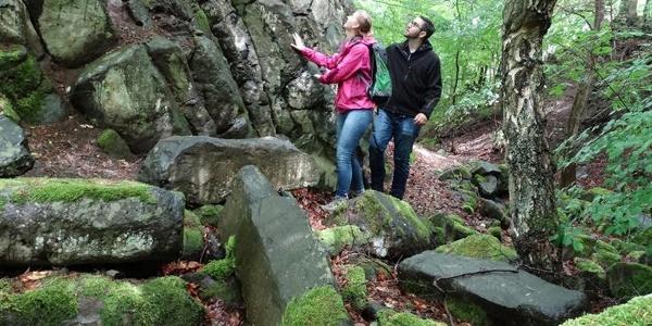 Basaltlehrpfad am Roßbacher Häubchen