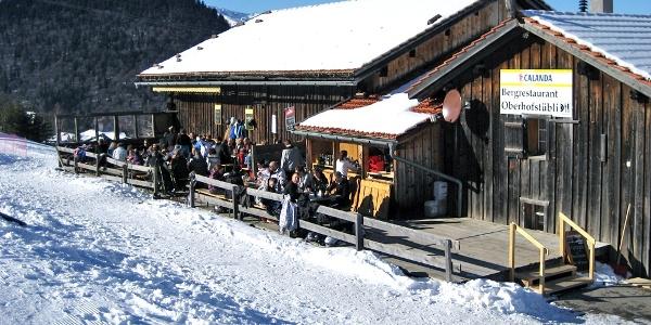 Gleich neben der Mittelstation der Grüsch-Danusa Bergbahn