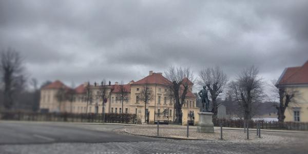 Blick auf das Schloss in Rheinsberg