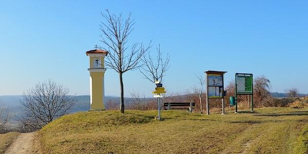 Jakobsweg Richtung Wetterkreuz