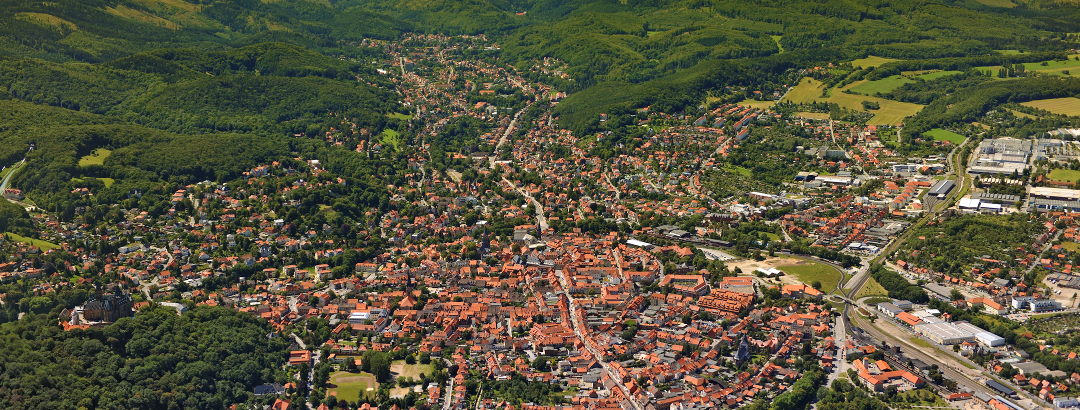 Blick über Wernigerode