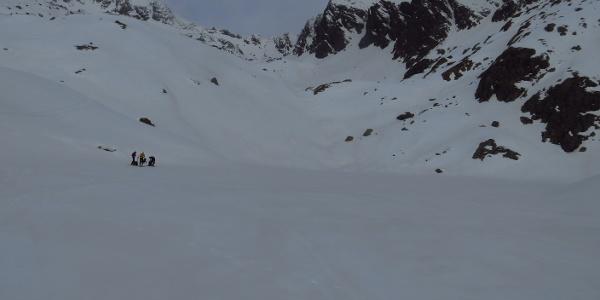 schneebedeckten Stubensee.