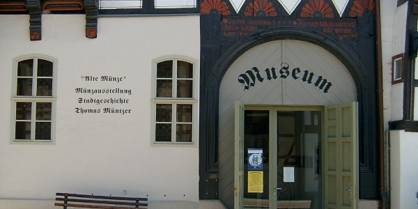 "Eingang Museum ""Alte Münze"" - Stolberg"