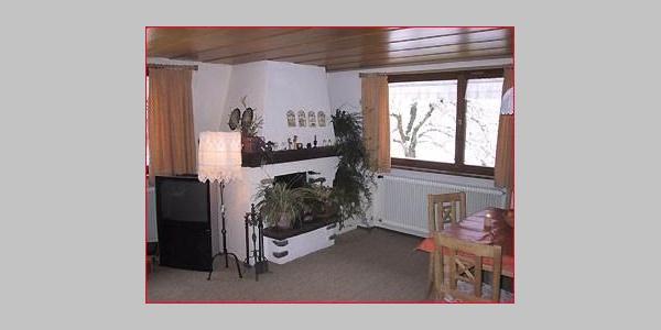 Waldhaus Wohnzimmer