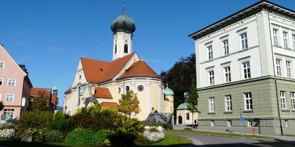 Stadtpfarrkirche in Immenstadt