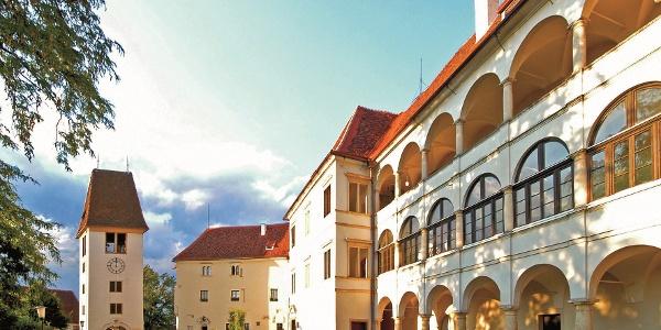 Blick auf das Schloss Seggau bei Leibnitz