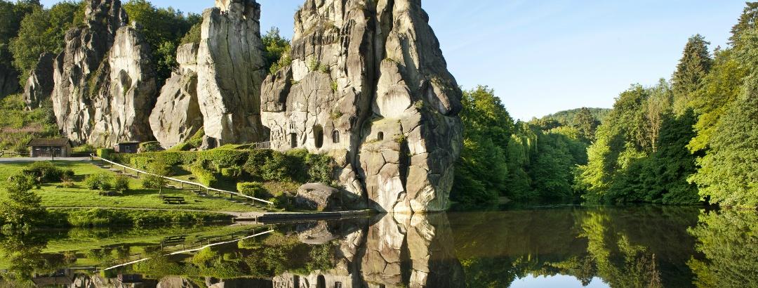 Die Externsteine bei Bad Meinberg