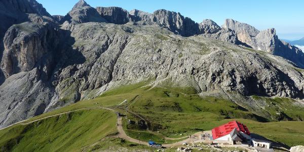 Aufstieg zum Maximilian-Klettersteig