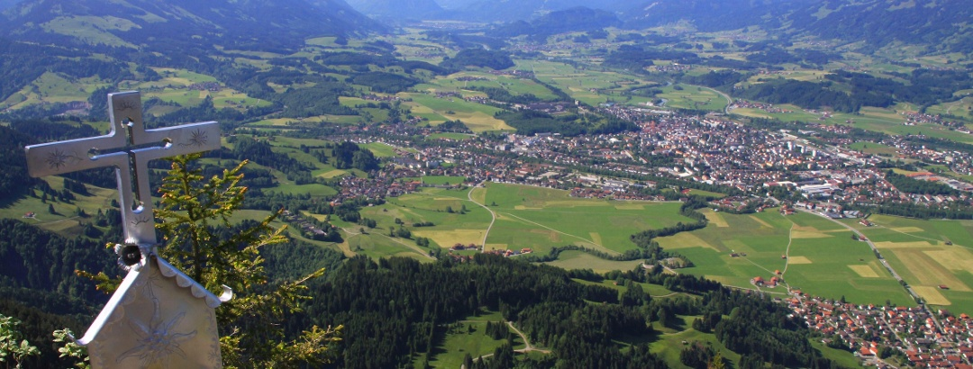 View to Sonthofen
