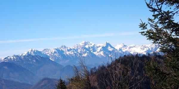 Blick vom Hochbuchberg zum Prielkamm