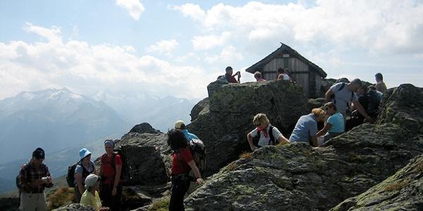 Die Kapelle am Gipfel des Kröndlhorn