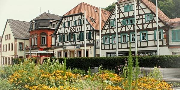 Fachwerkhäuser Hauptstraße Landstuhl