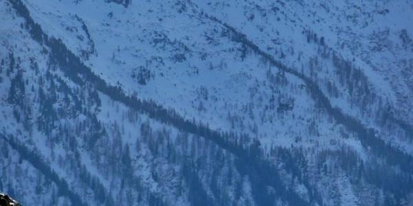 Aufstieg zum Lac Blanc