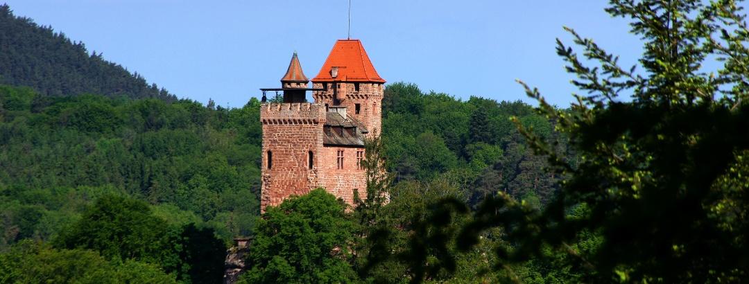 Die Burg Berwartstein