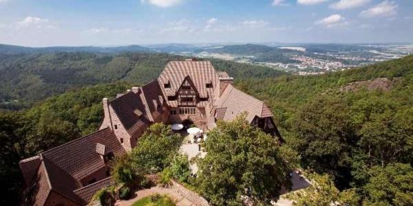 Außenansicht Romantik Hotel auf der Wartburg