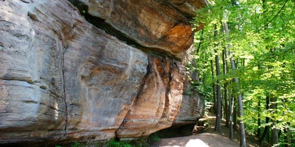 Auf dem Rodalber Felsenweg