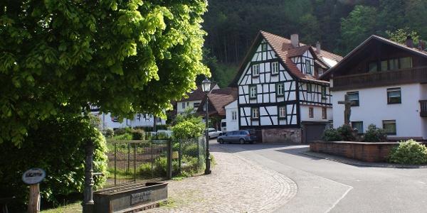 Straße in Erfweiler