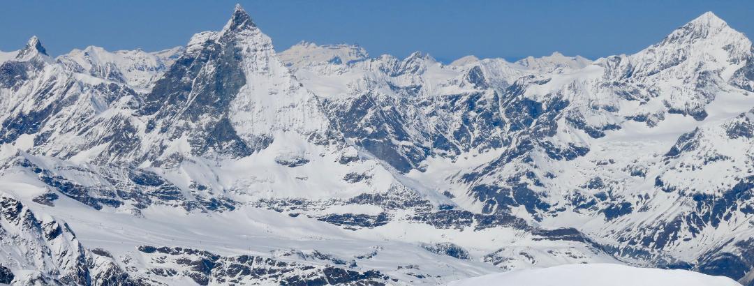 Matterhorn von der Monte Rosshütte
