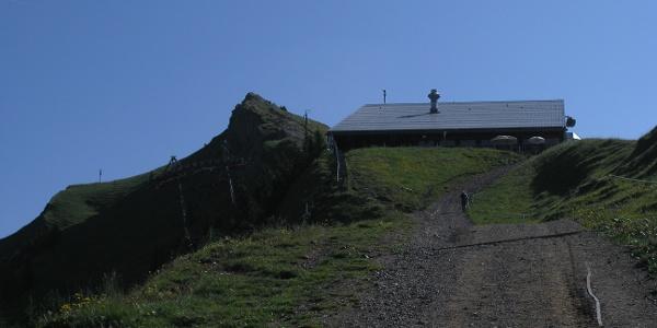 Bergstation Hochgratbahn