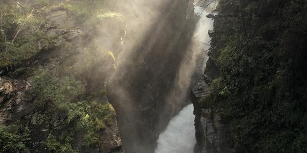 Der Stieber Wasserfall im Passeiertal