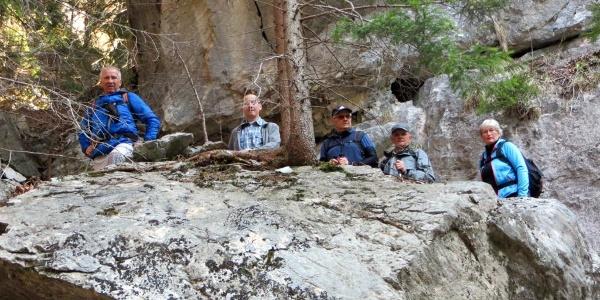 Waldaufstieg zum Hochgang