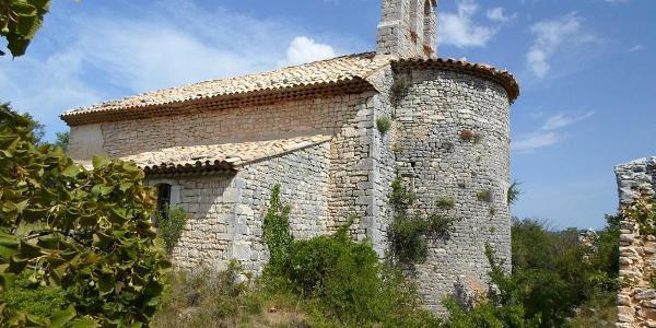 Kirche in Haut Montsalier - ©Ferienhaus La Rostane