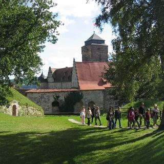 Festung Rosenberg mit Wallgraben, Foto: Stefan Wicklein