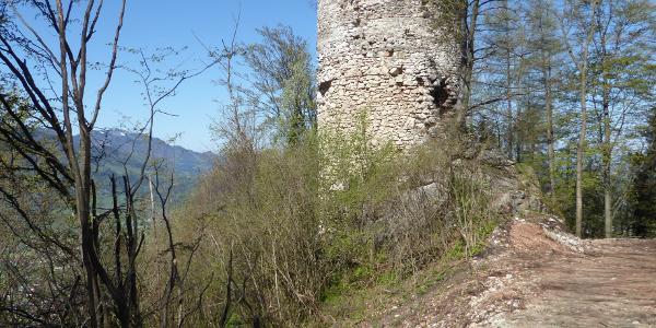 Turmmauer über Altpernstein