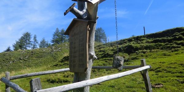 """""""Wetterstation"""" entlang des Salzburger Almenweges"""