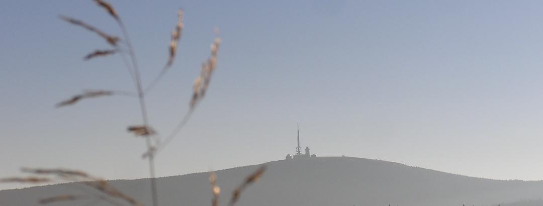 Der Brocken (1141m)