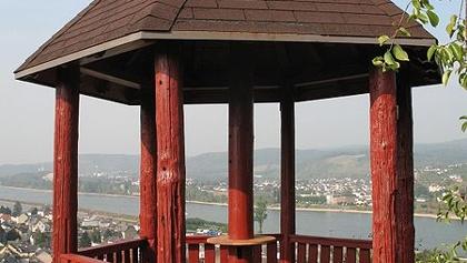 Aussichtspavillon bei Brohl-Lützing