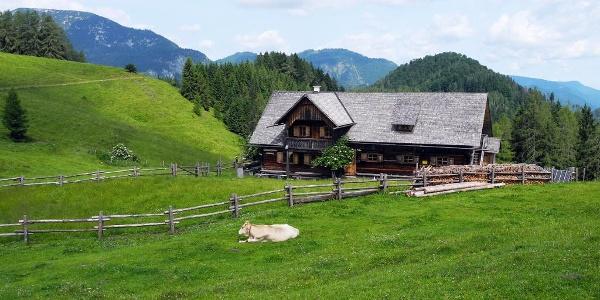 Blahbergalm im Reichraminger Hintergebirge © Nationalpark Kalkalpen_Stückler