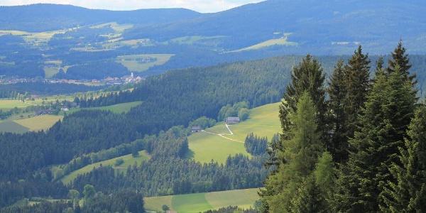 Blick von St. Jakob im Walde nach Wenigzell