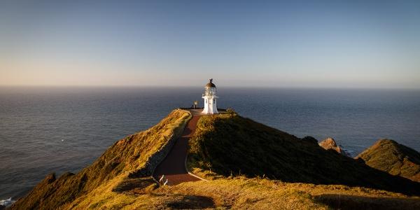 Leuchtturm auf dem Cape Reinga