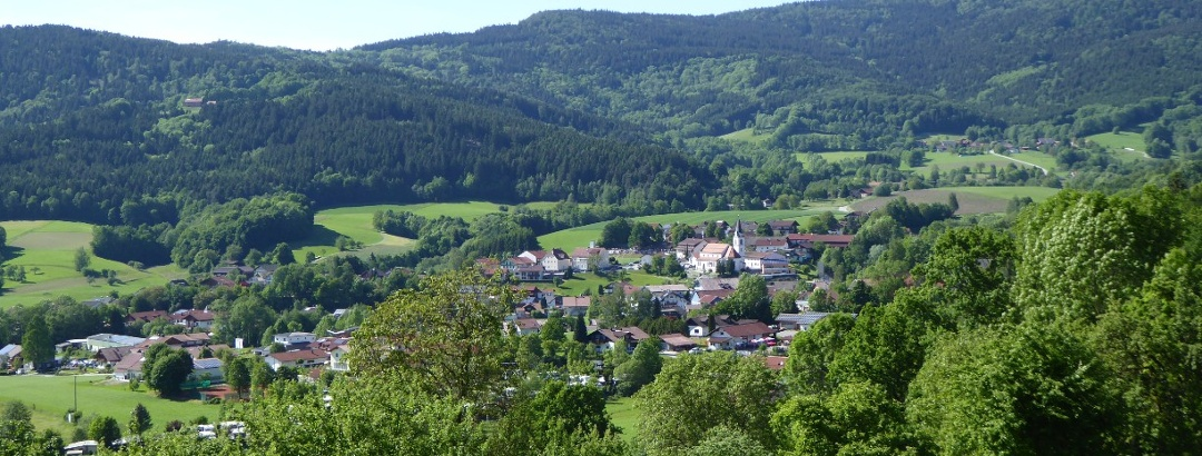Blick auf Bernried