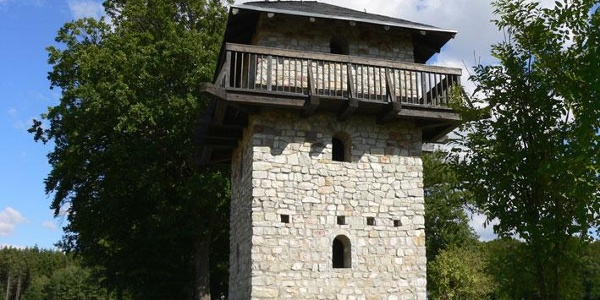 Römerturm bei Dill im Hunsrück