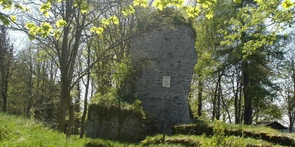 Ruine Königsburg mit Stempelstelle 41