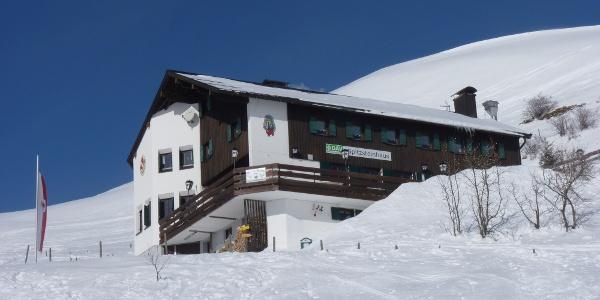 Spitzsteinhaus -  Winter