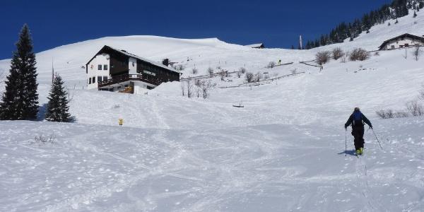 ideales Skitourengelände