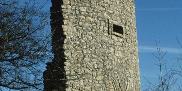 Küssaburg-Teil der Burgruine