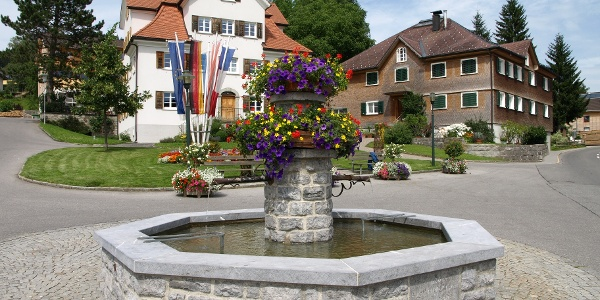 Lingenau Dorfplatz