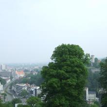 Blick runter nach Bielfeld Zentrum