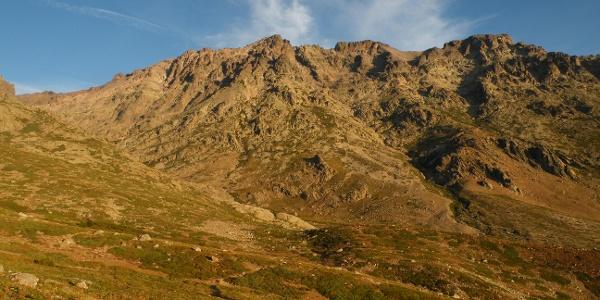 Der Westgrat des Monte Cintu
