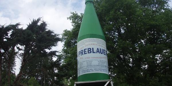 Preblau - Mineralflasche