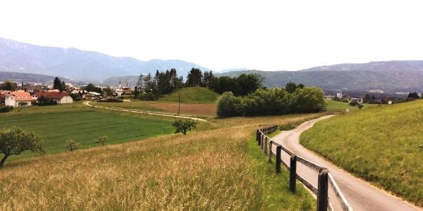 Ausblick entlang der Tour rund um den Oswaldiberg