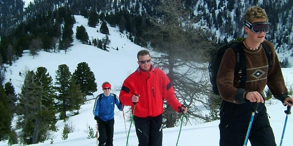 Skitour auf den Seenock (2.260m) im Nationalpark Nockberge