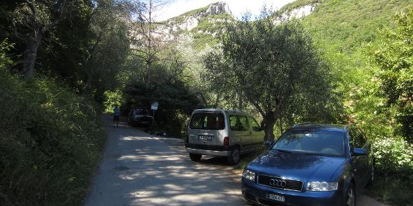 Parkplatz Sciamarco