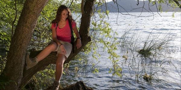 Am Ufer des Laacher Sees