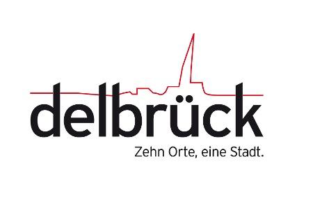 Logo Stadt Delbrück / Stabstelle Öffentlichkeitsarbeit/Stadtmarketing/Wirtschaftsförderung