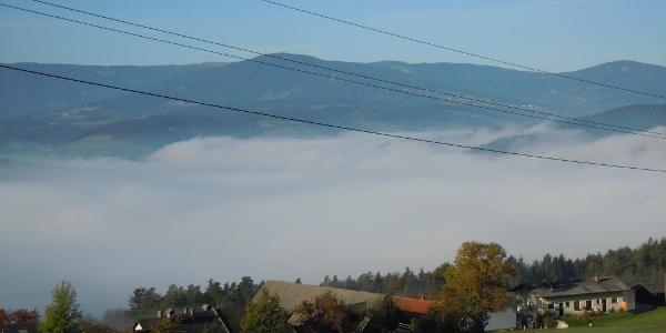 Aussicht vom Wachahof in Edlitz   Bucklige Welt